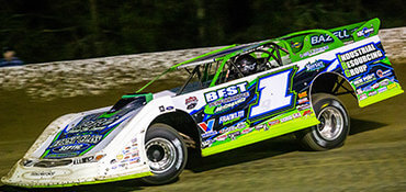 Erb Holds Off Overton in Last Lap Shootout