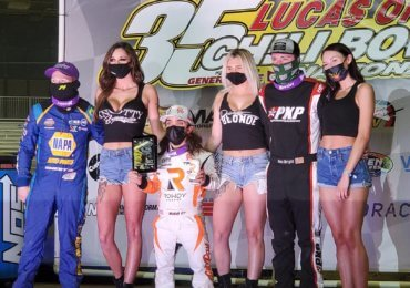 Rico Abreu stays in front with Chaos behind on Wednesday