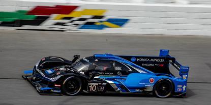 Chip Ganassi Car blows tire, Wayne Taylor Racing wins Third Straight Rolex