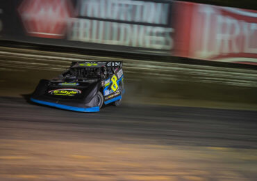 Kyle Strickler survives rough night at Volusia
