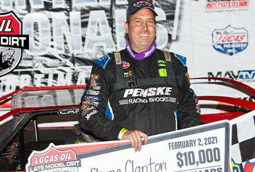 Clanton becomes Seventh LOLMDS winner in Eight Races